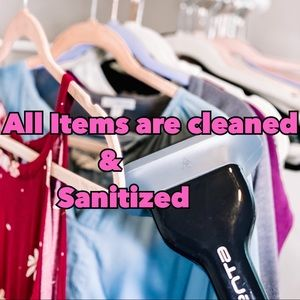 🍋 All items are cleaned & sanitized